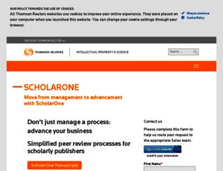 mc03.manuscriptcentral.com screenshot
