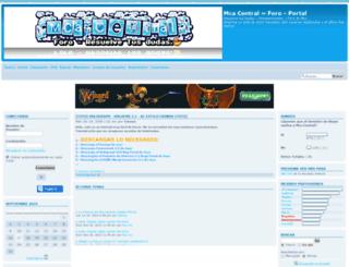 mca-central.foroactivo.net screenshot