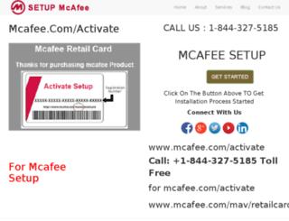 mcafee-com-activate.in screenshot