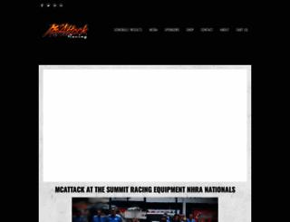 mcattackracing.com screenshot