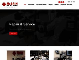 mcbainsystems.com screenshot