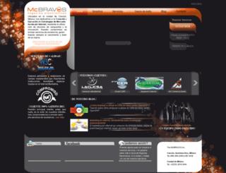 mcbravos.mx screenshot
