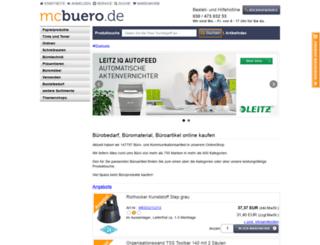mcbuero.de screenshot