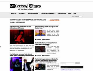 mccartney.com screenshot