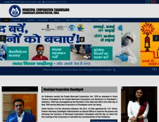 mcchandigarh.gov.in screenshot