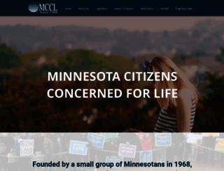 mccl.org screenshot