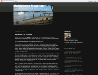mcclellansmagellan.blogspot.com screenshot