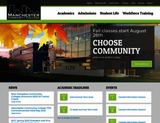 mccnh.edu screenshot