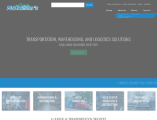 mccollisters.com screenshot