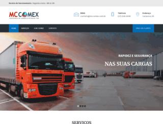 mccomex.com.br screenshot