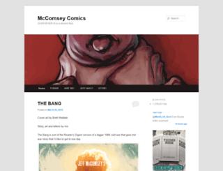mccomseycomix.wordpress.com screenshot