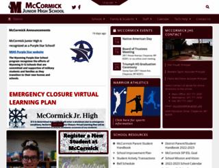 mccormick.laramie1.org screenshot