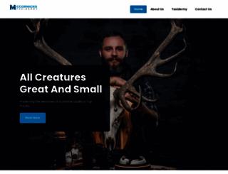 mccormickstaxidermy.com screenshot
