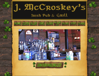 mccroskeyspub.com screenshot