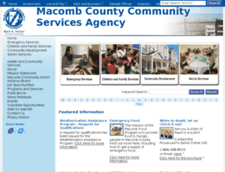 mccsa.macombgov.org screenshot