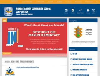 mccsc.schoolwires.net screenshot