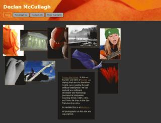 mccullagh.org screenshot