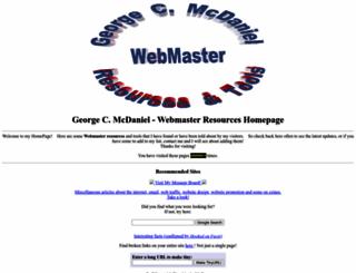 mcdangeo.com screenshot