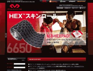 mcdavidonline.jp screenshot