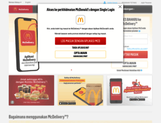 mcdelivery.com.my screenshot
