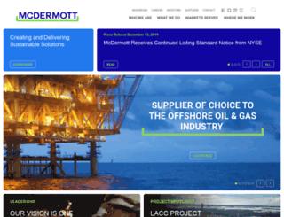 mcdermott.com screenshot
