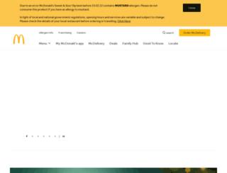 mcdonalds-myinfo.co.uk screenshot