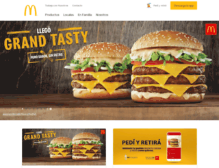 mcdonalds.com.ar screenshot