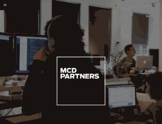 mcdpartners.com screenshot