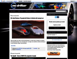 mcdrifter.blogspot.com screenshot