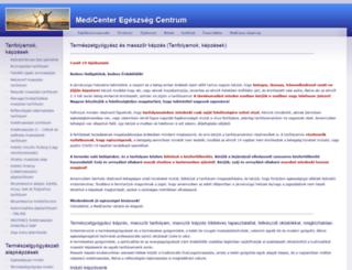 mcec.hu screenshot