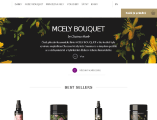 mcelybouquet.com screenshot