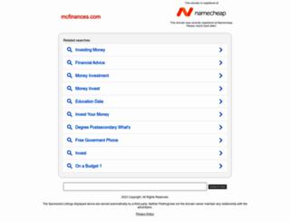 mcfinances.com screenshot