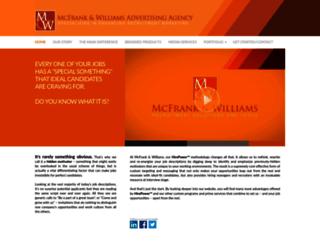 mcfrank.com screenshot
