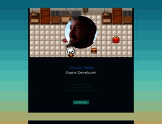 mcfunkypants.com screenshot