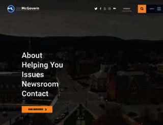 mcgovern.house.gov screenshot