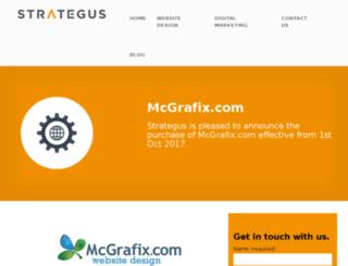 mcgraphix.co.nz screenshot