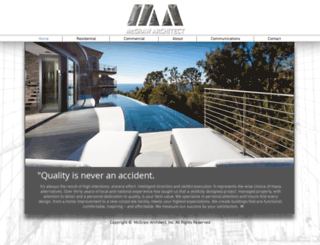 mcgraw-architect.com screenshot