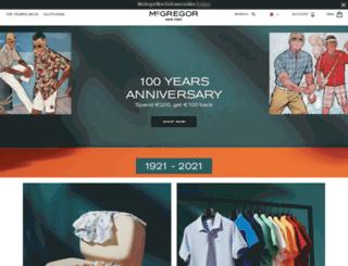 mcgregorstore.com screenshot