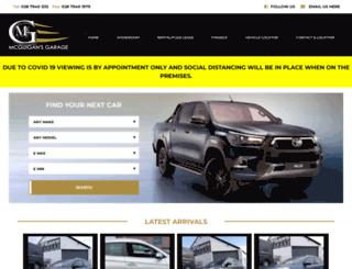 mcguigansgarage.com screenshot
