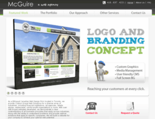 mcguirenetworks.com screenshot