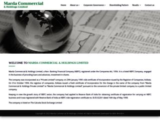 mchl.co.in screenshot