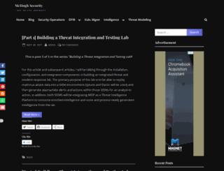 mchughtech.com screenshot