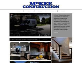 mckeeconstruction.net screenshot