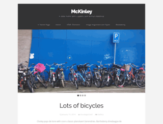 mckinleydemo.wordpress.com screenshot