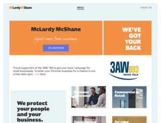 mclardymcshane.com.au screenshot