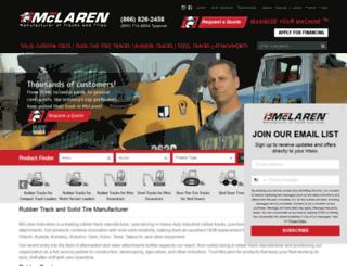 mclarenindustries.com screenshot