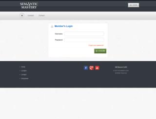 mclass.semanticmastery.com screenshot