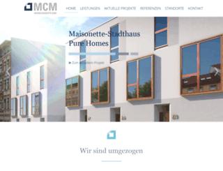 mcm-immobilienkonzepte.de screenshot