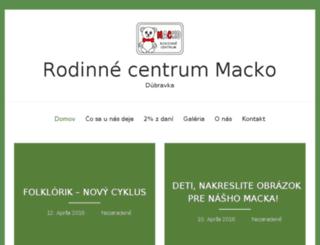 mcmacko.host.sk screenshot