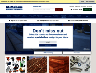 mcmahons.ie screenshot